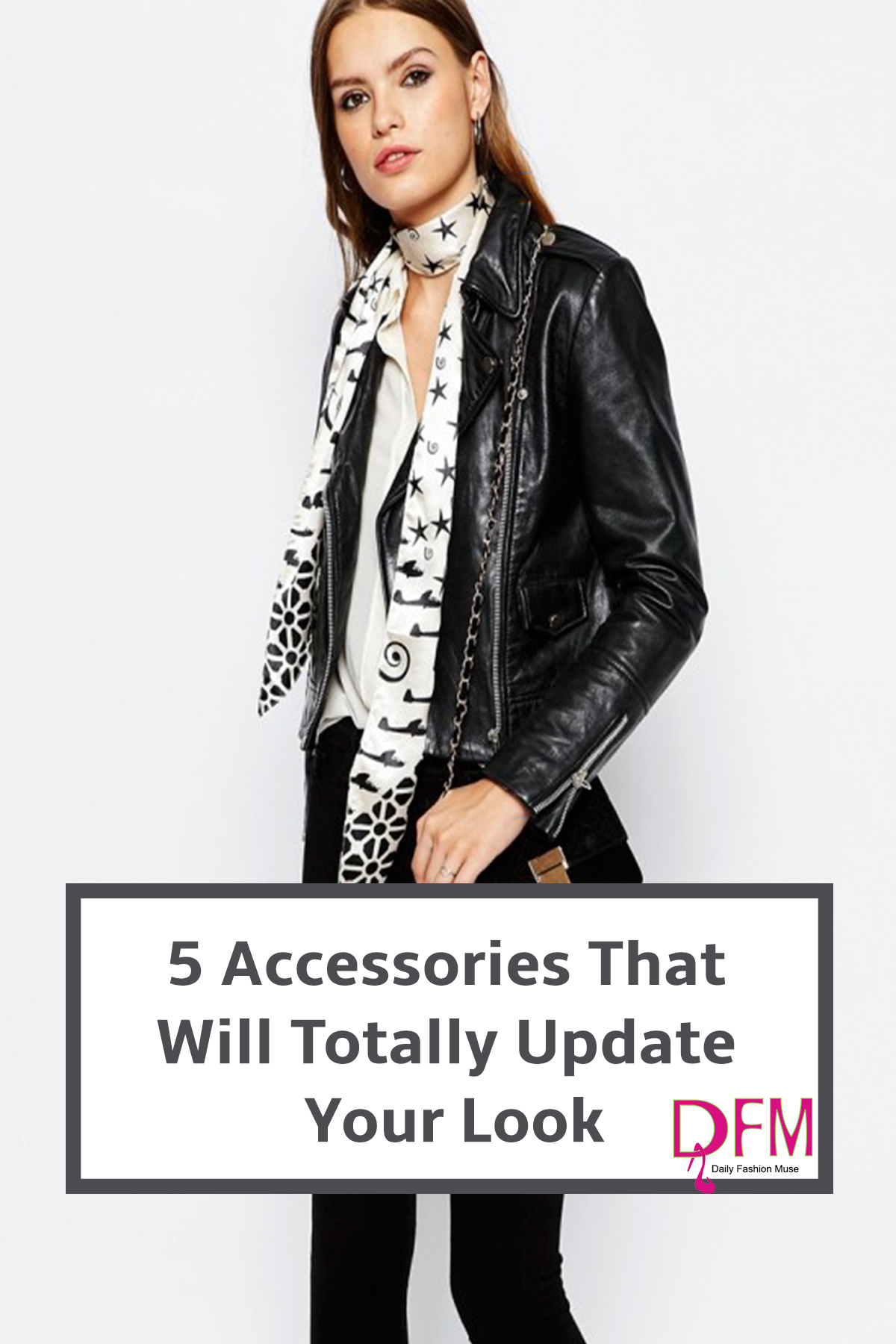 If you want to update your look without breaking the bank, try using these 5 accessories to give your look a whole new attitude.