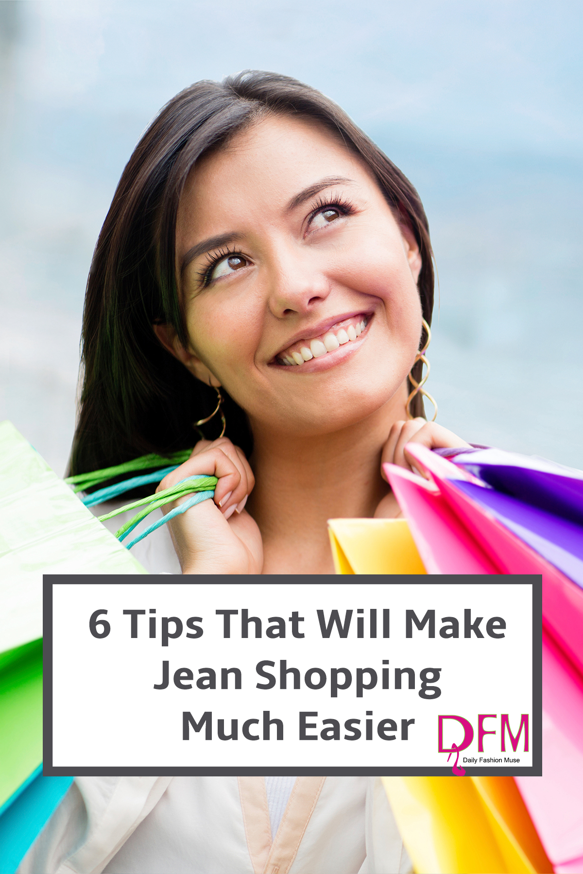If shopping for jeans drives you up the wall, check out these 6 tips that will make jean shopping much easier.