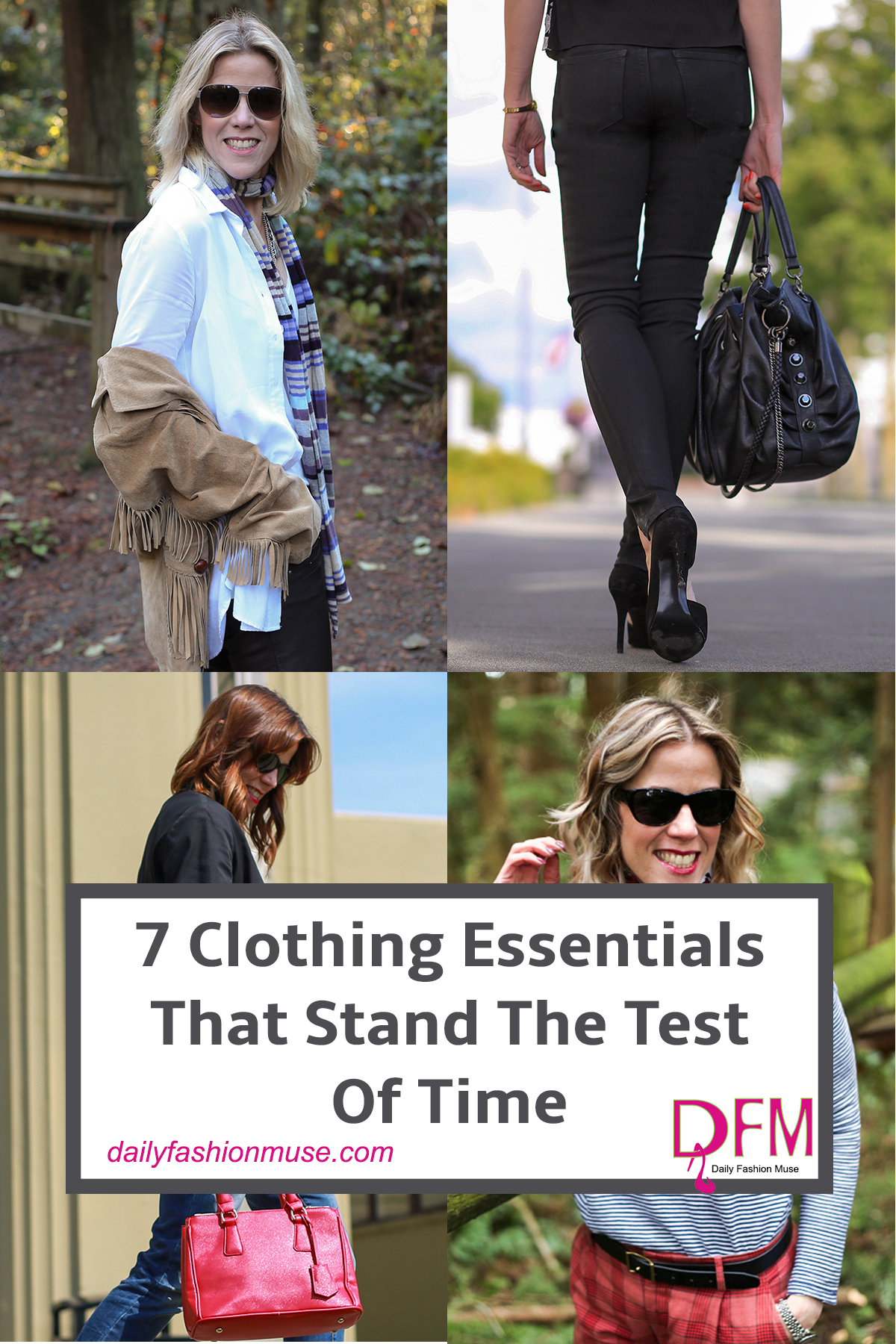 There are 7 clothing essentials that have proven to stand the test of time over the years and are worth investing as much as you can afford to. Click read what they are or pin for later reference.