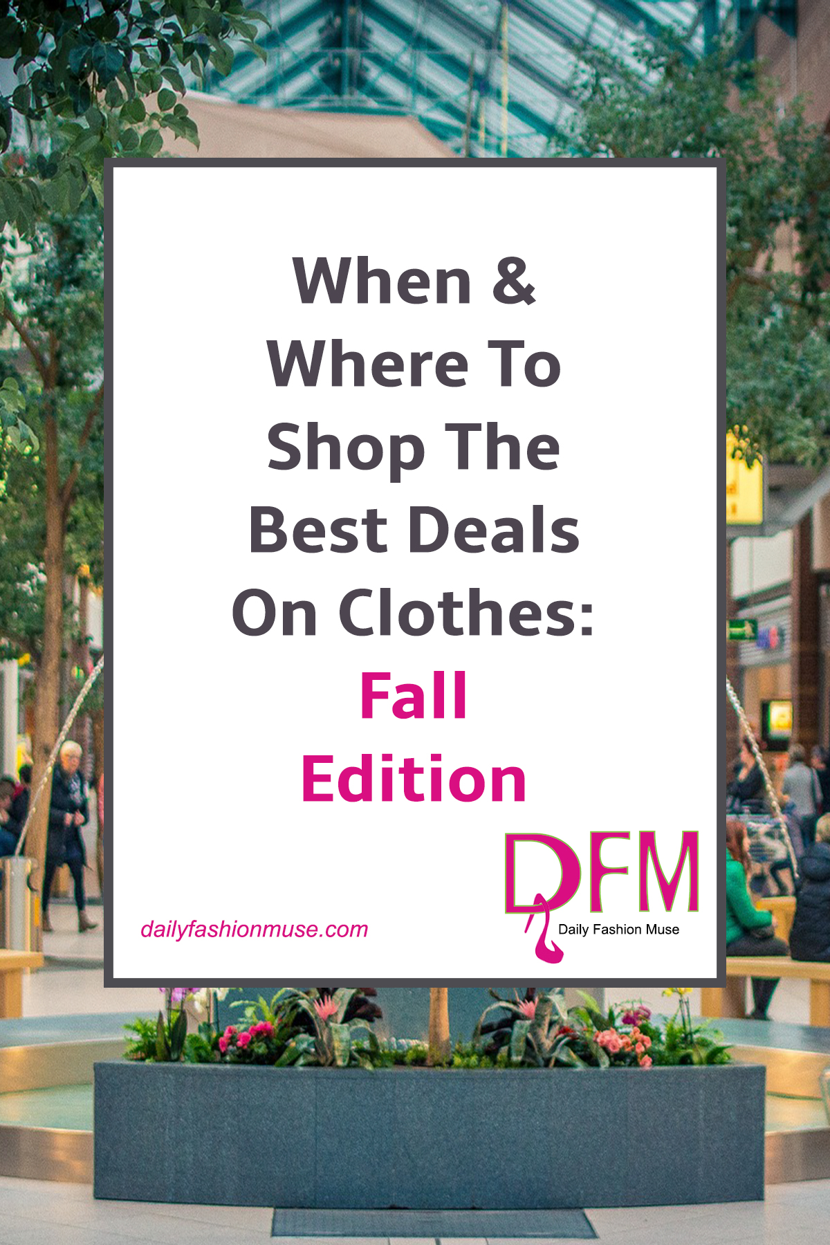 Before you begin that back-to-school shopping trip, stop for a minute to read this post. Find out when is the best time to score the best deals for fall on clothes. Make your money go further now that you are in the know.