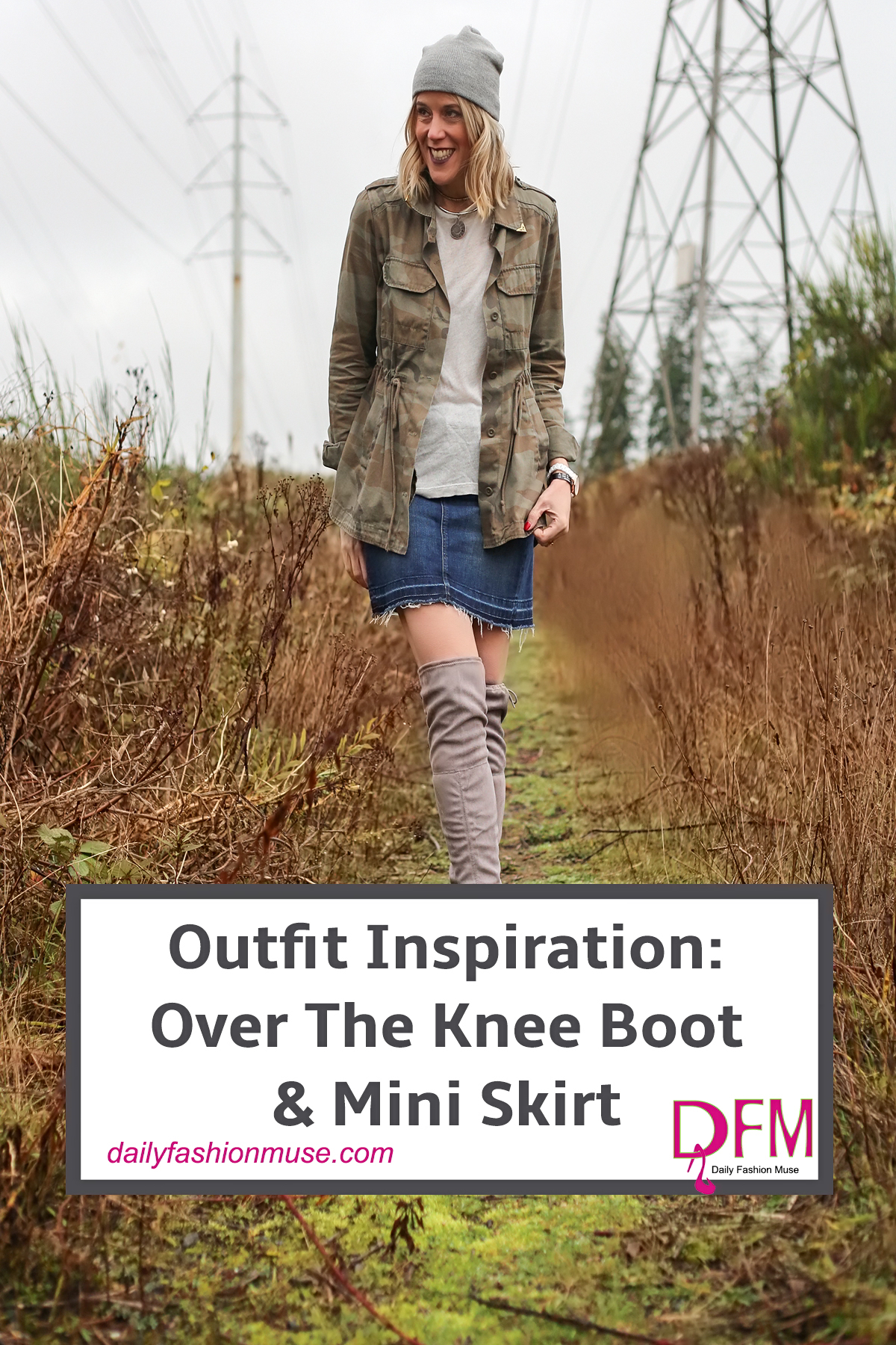 OTK Boots also known as over the knee boots are one of my favorite winter shoe options. They allow you to wear something other than jeans during cold months