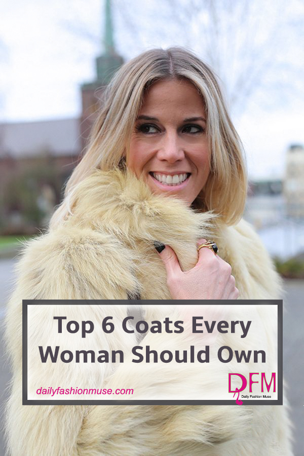 One coat does not fit all when it comes to deciding which coats work best for different outfits. Click to read my top 6 coats every woman should own.