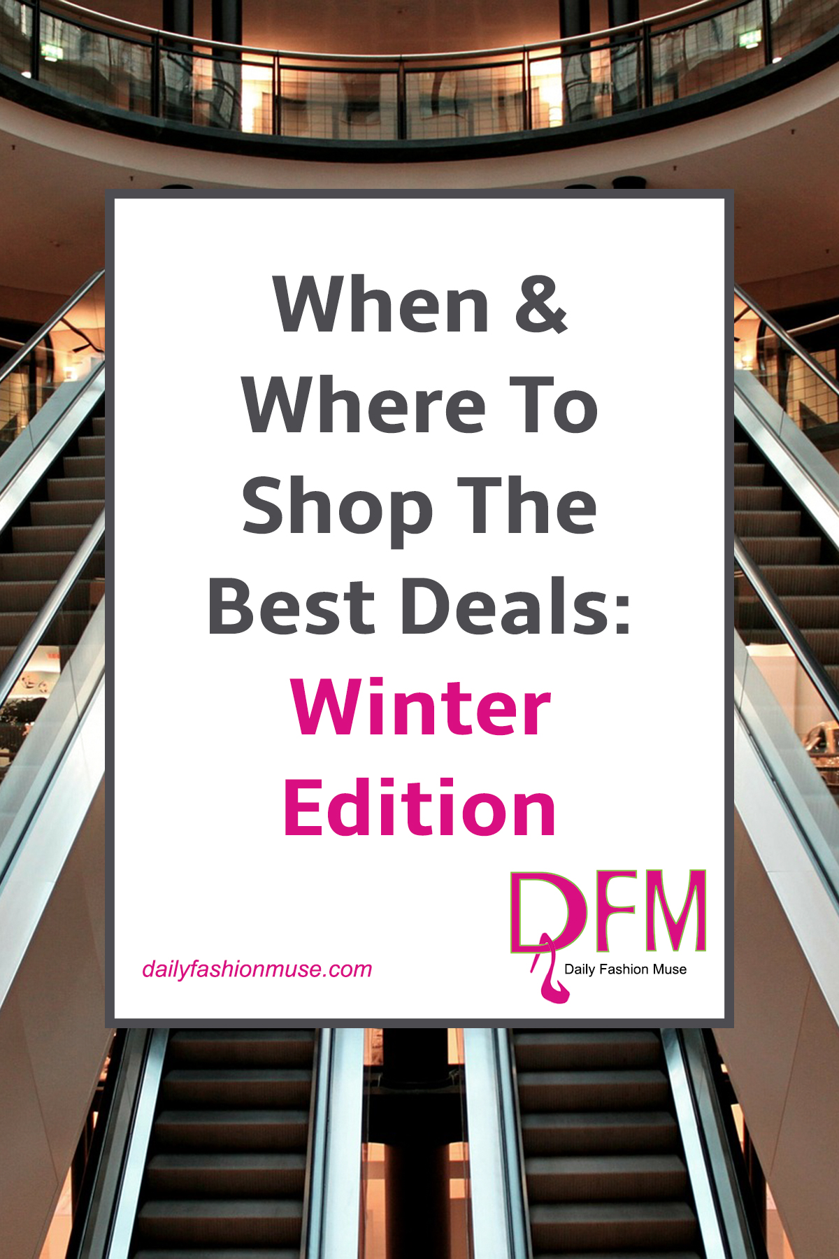 Find out when is the best time to score the best deals for winter. Make your money go further now that you are in the know. Pin to refer to later.