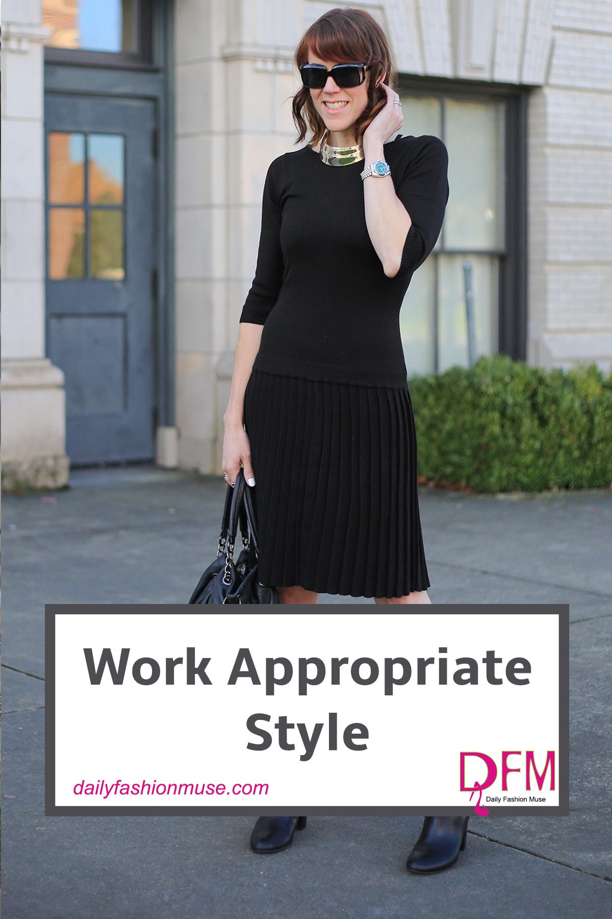 A work appropriate style is an important skill to develop. You should always dress to impress. Whether it is your own business, or you are vying for a promotion, clients, co-workers, and bosses will look at your style and use it as one of the deciding factors to determine your capability.