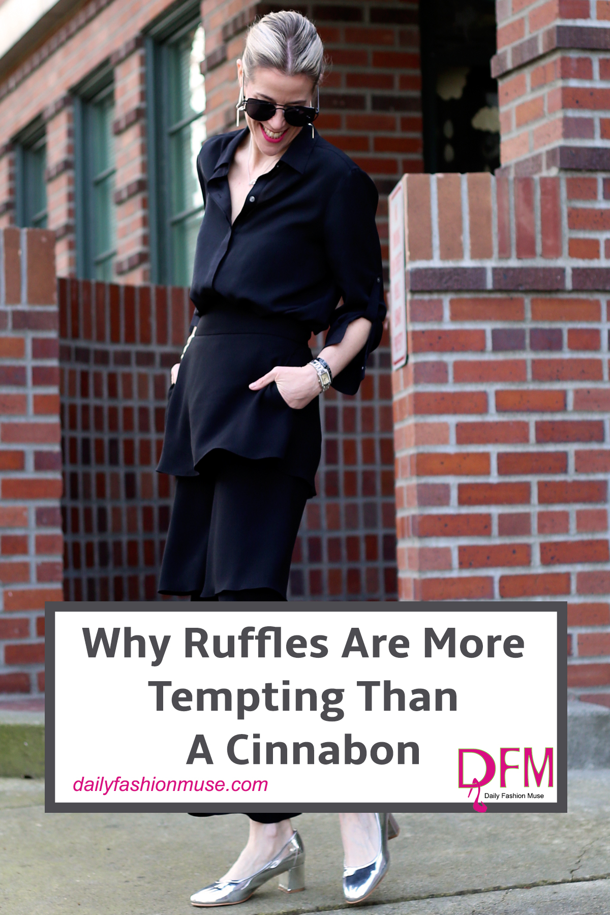Ruffles are trending for spring but for how long? Be selective in your choices and they will last forever. Click for suggestions on what to look for. Daily Fashion Muse