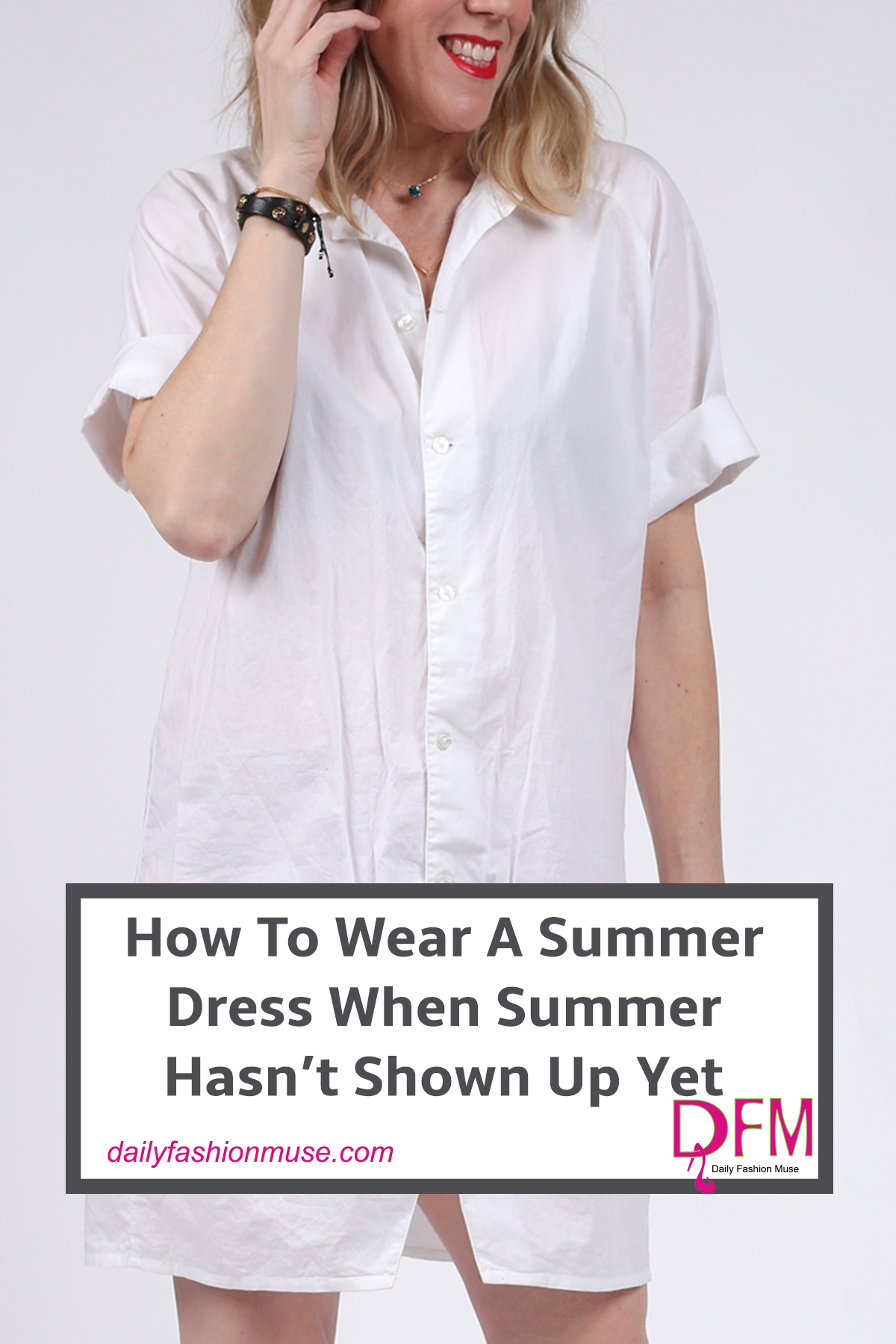 If you are looking for a way to wear your summer dress before summer hits then click through to see how all the fashionistas are wearing their summer dress. Daily Fashion Muse