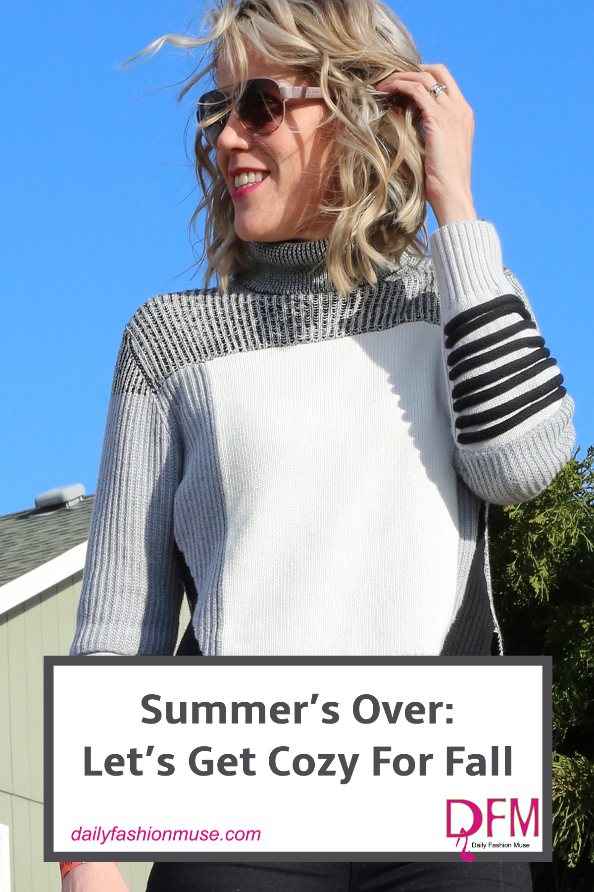 Click through the slideshow below to shop the season's newest cozy sweater styles. You will be bundled up and toasty warm before you know it. -Daily Fashion Muse