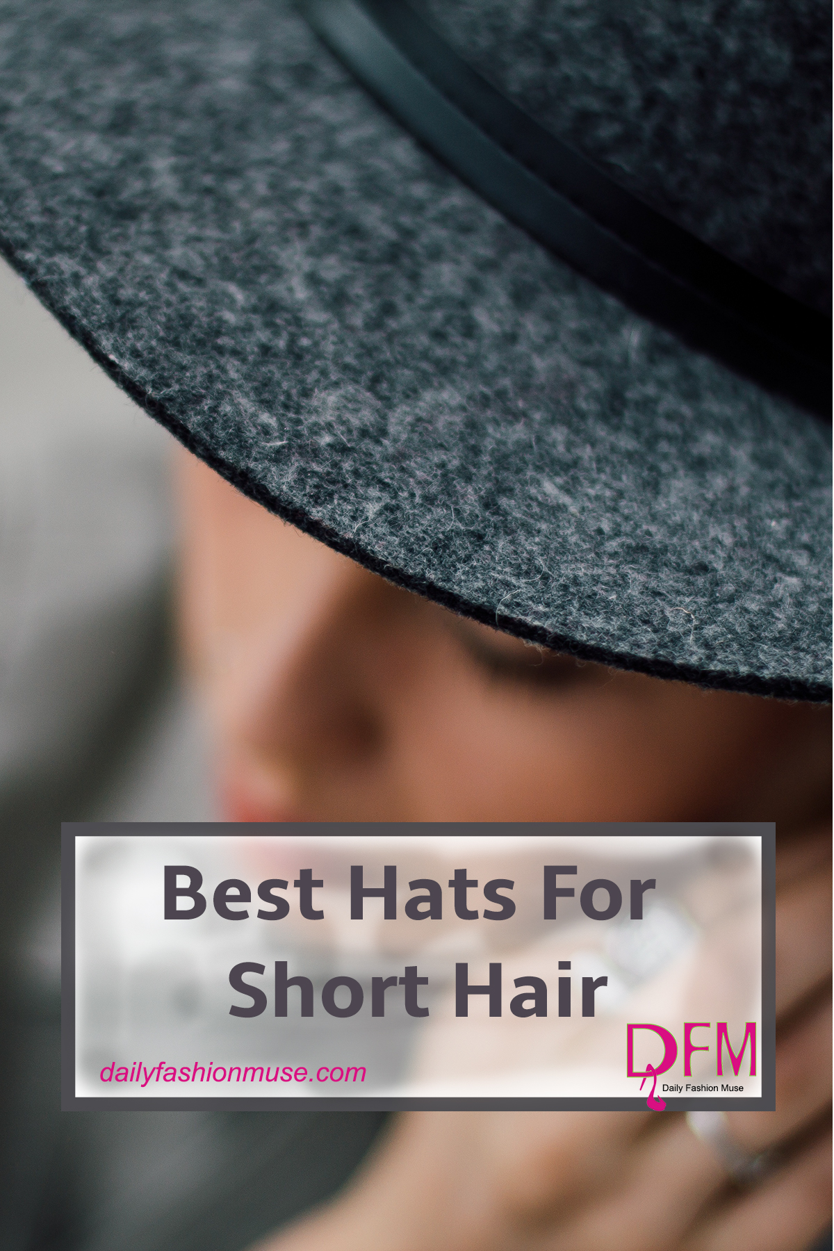 Struggling to find just the right hat for short hair? In this post I discuss several options and why they work. Click through to read.