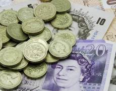 Pound Falls After Comments and Data