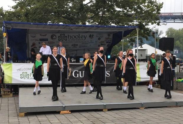 Members of the Celtic Heels School ...