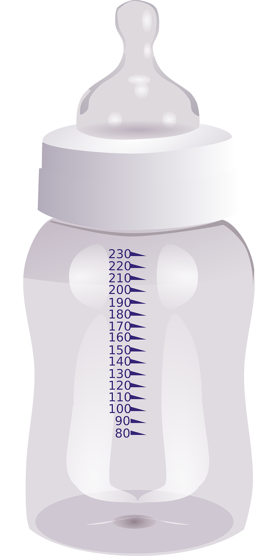 Cartoon Baby Bottle vector