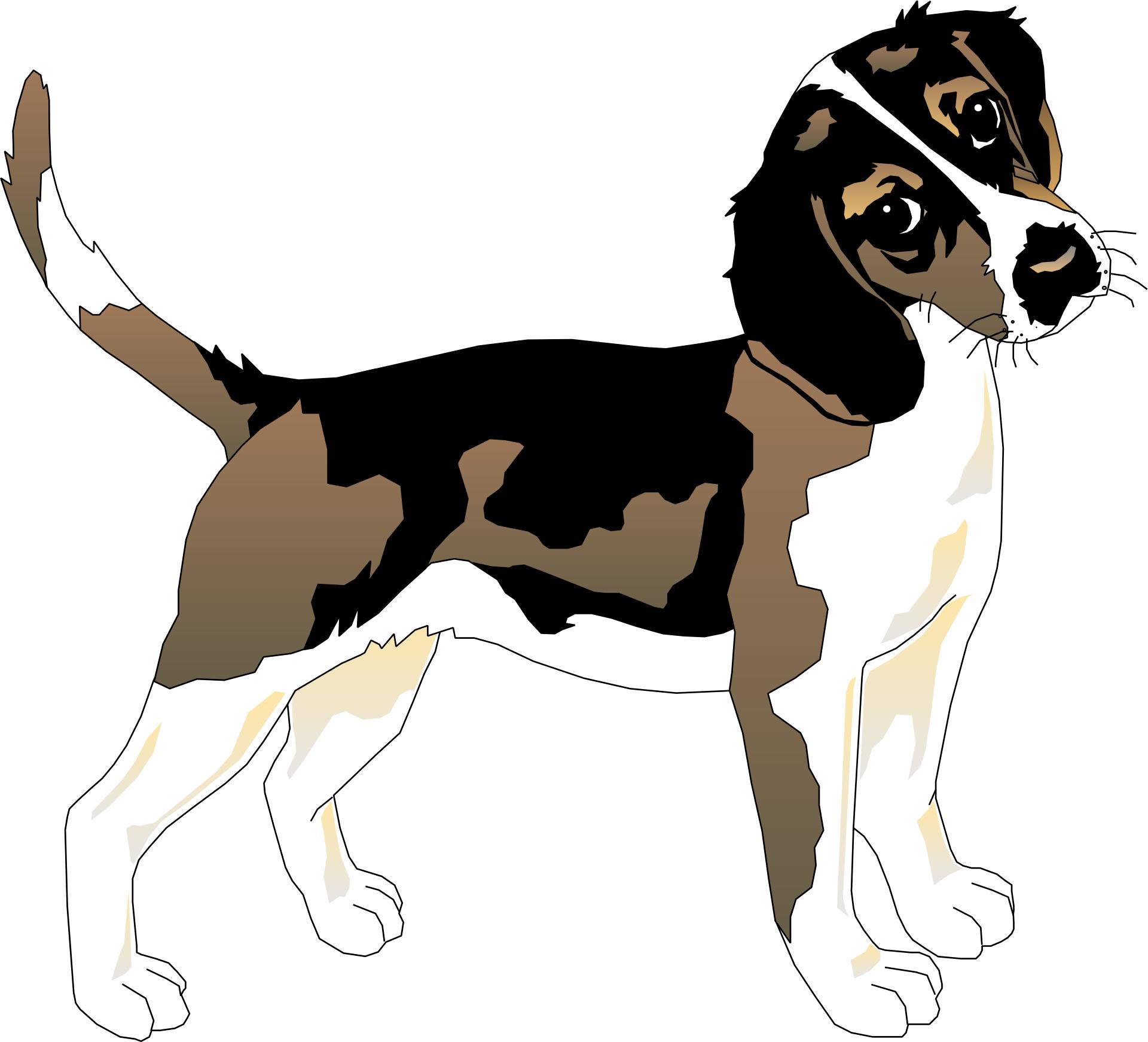 Cartoon animal,beale,pet dog vector