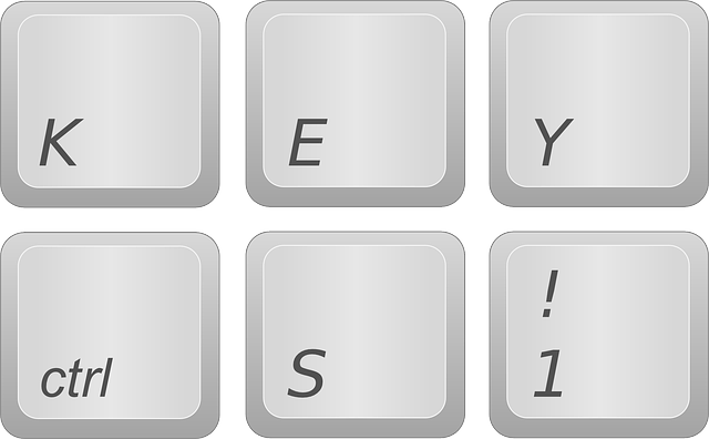 Computer Keyboard-Key button