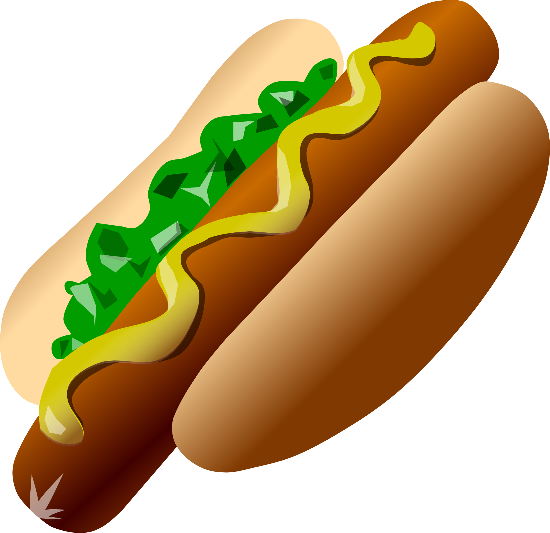 Delicious food,meat,ketchup,Hot Dog vector