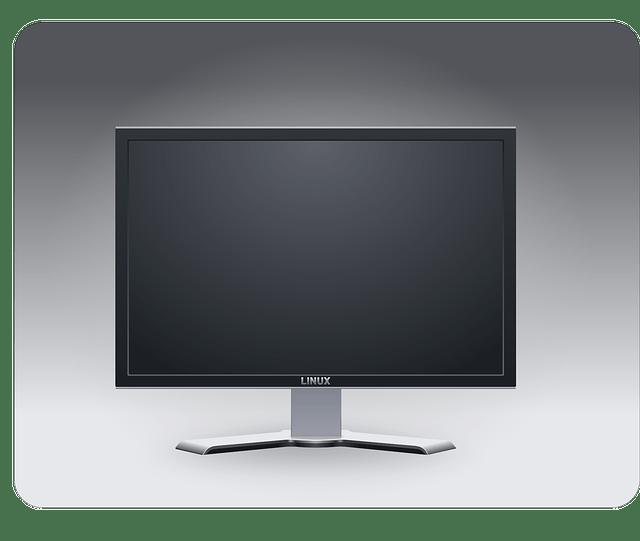 Flat Panel Plasma-Lcd Screen vector