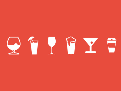 Free Drink & Cup icons PSD