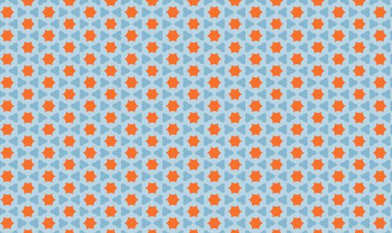 Free Red Star Pattern (PAT)