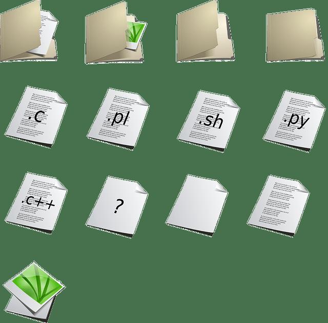 GUI of user folders