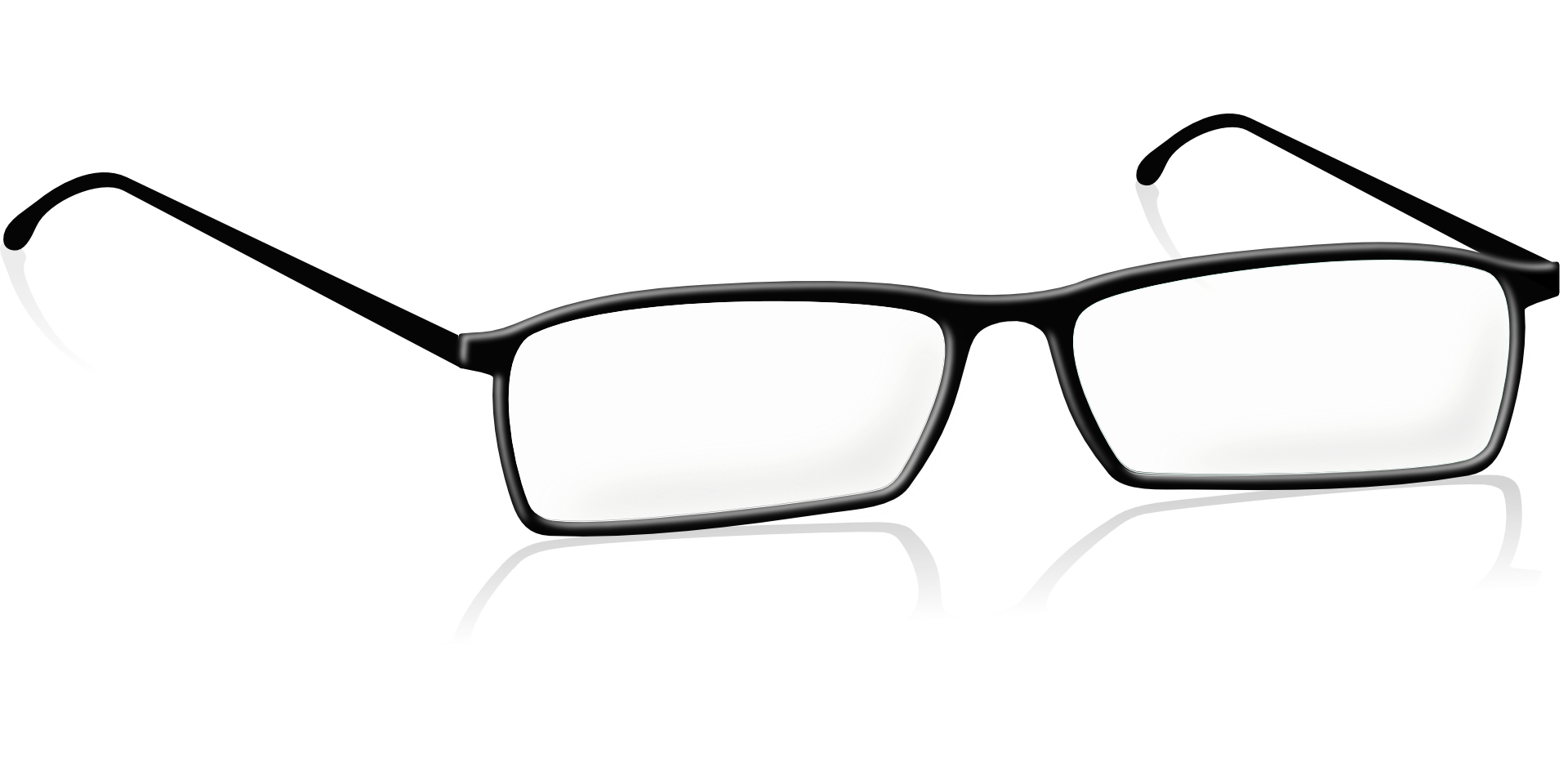 Glasses, spectacle frames vector