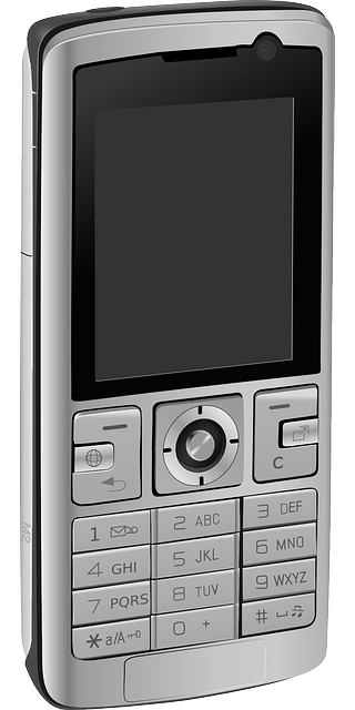 Older cell phone vector
