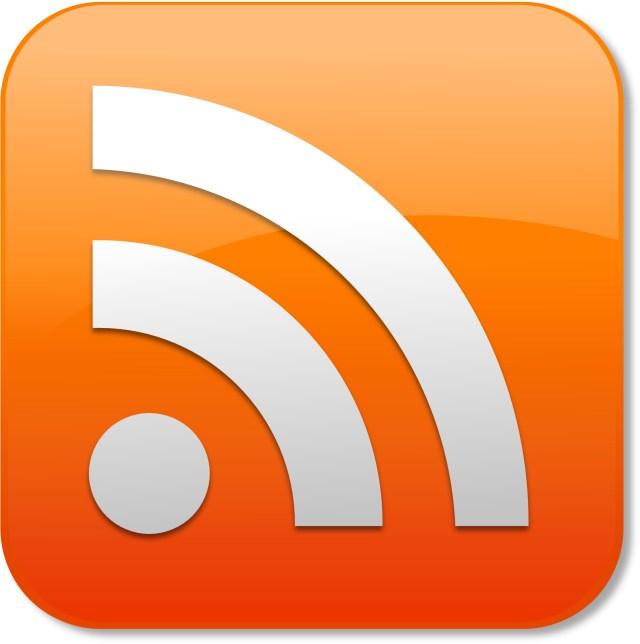 Orange subscription Icon,Social media ,Social Feeds vector