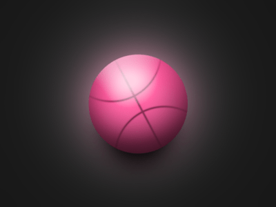 Red Basketball-Sphere Free PSD