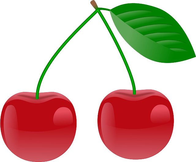 Red Cherries free vector