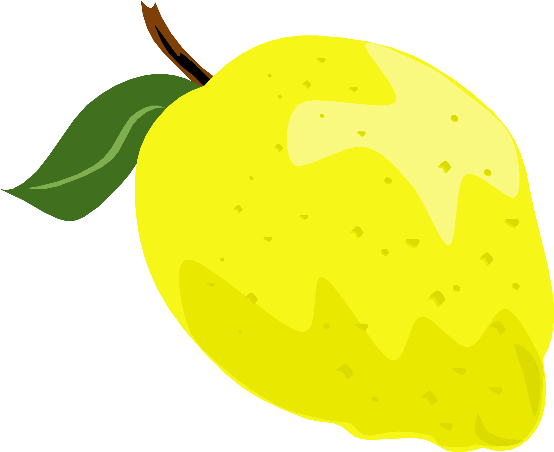 Yellow fruit,lemon,citrus vector