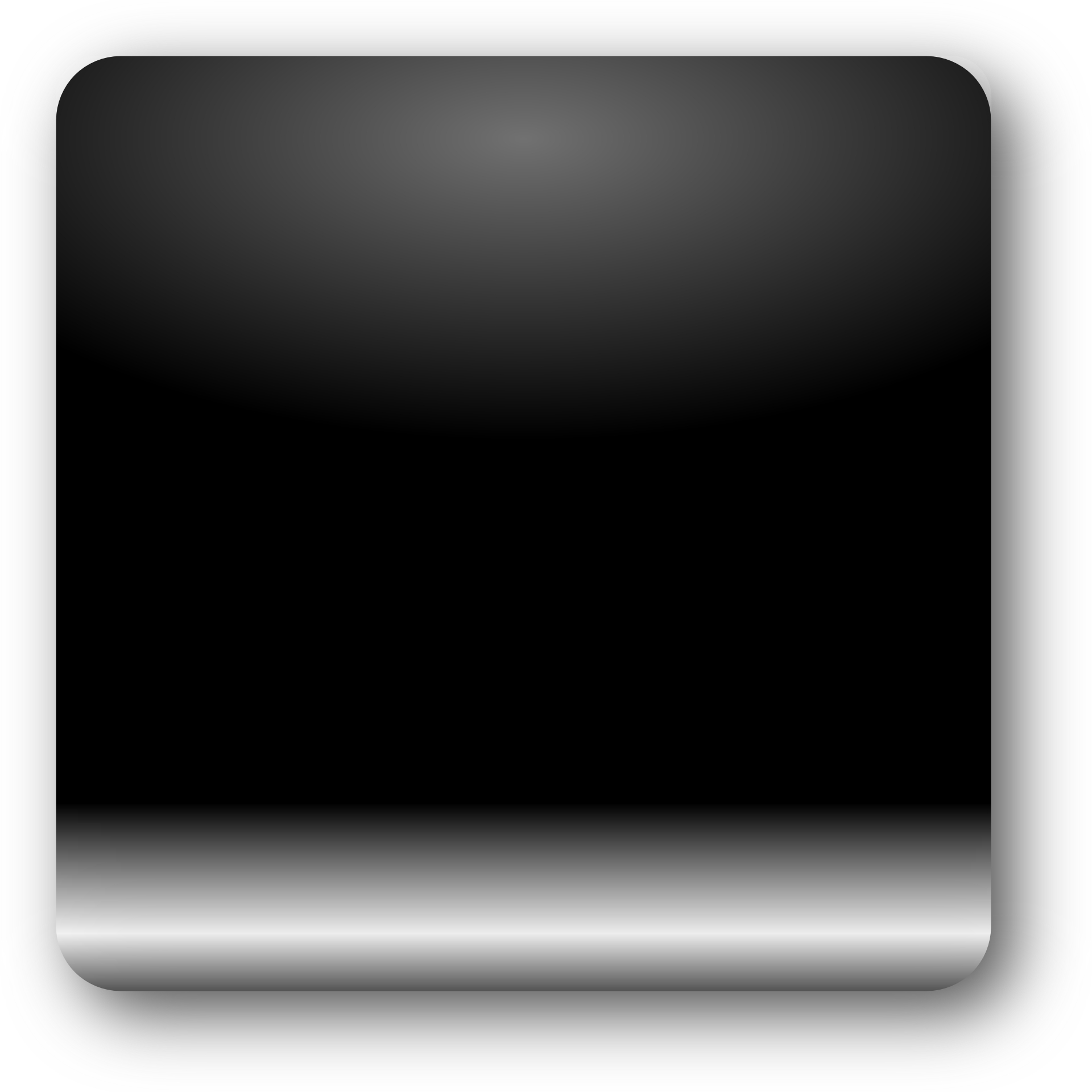 black glossy crystal button,squre button vector