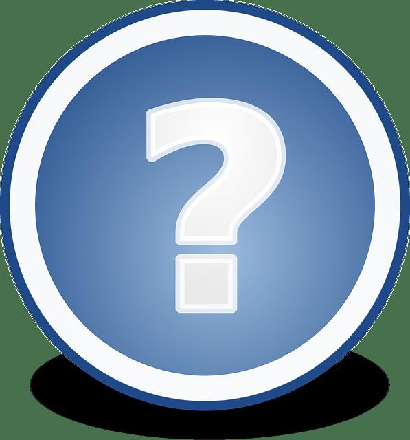 faq question mark vector
