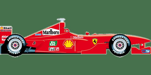 ferrari-motor racing sports vector