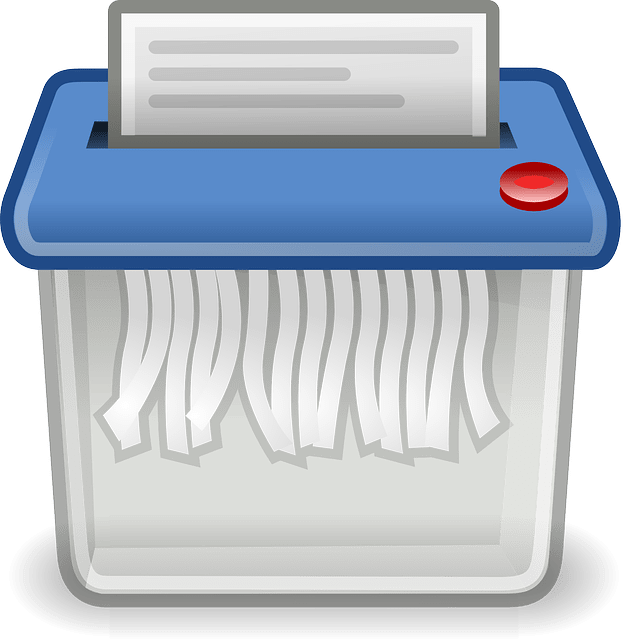 paper shredder free vector
