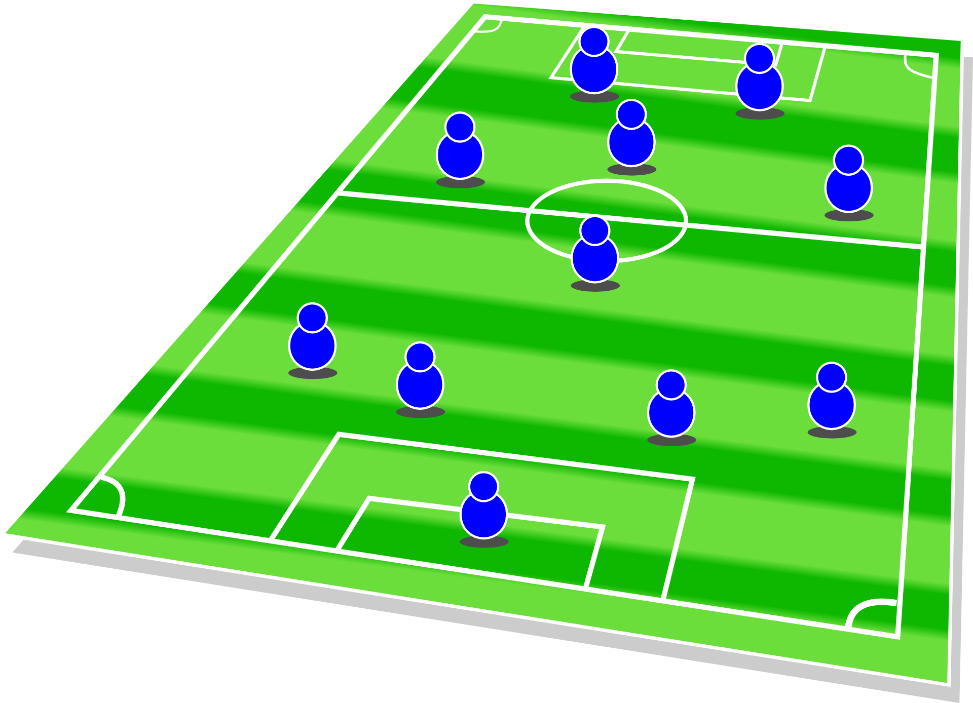 play football -football field-picture