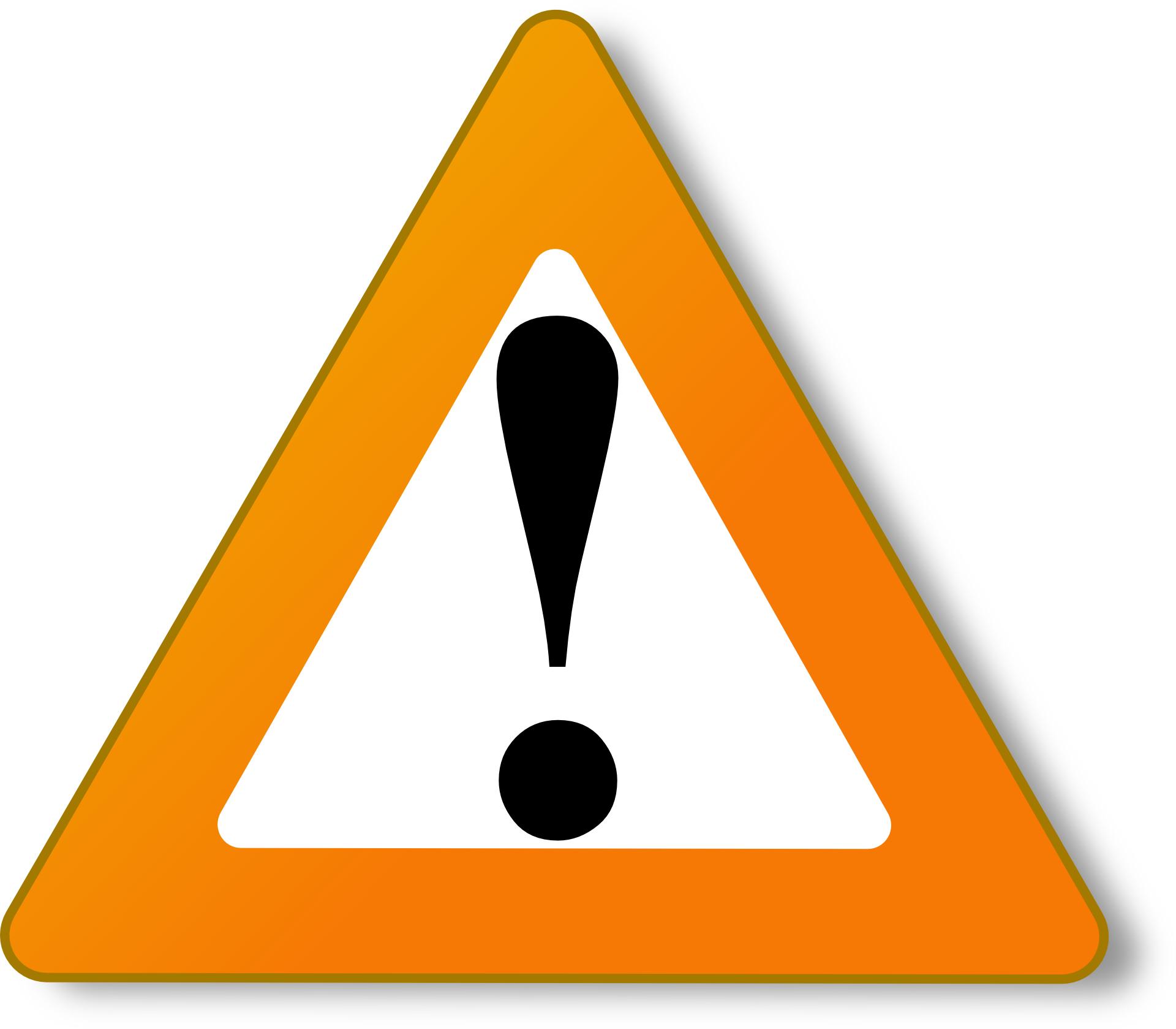 sign of danger vector
