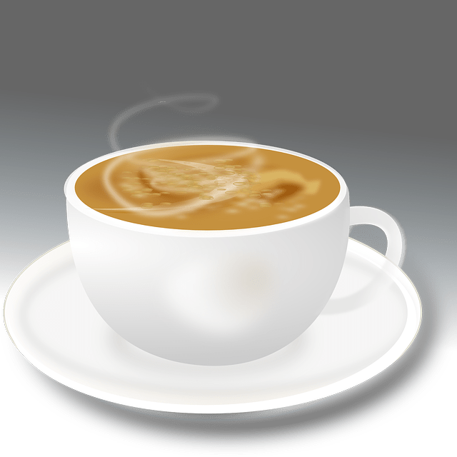 Coffee cup -Hot drinks -vector