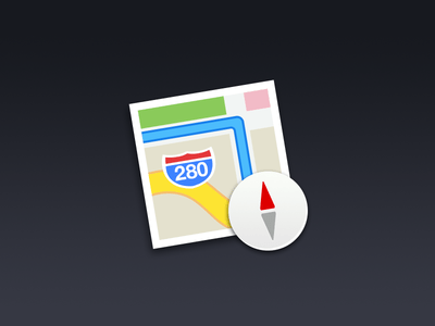 Cool Free OS X Maps PSD