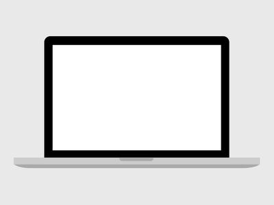 Flat Apple Macbook Pro Free PSD