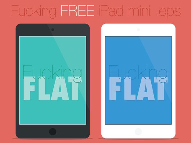 Free Flat Apple Ipad Vector