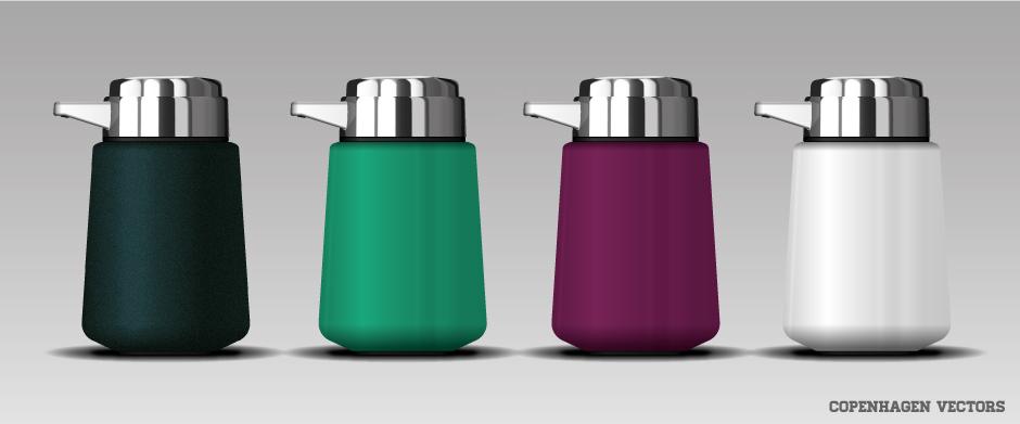 Free Soap Dispenser vector illustrator file