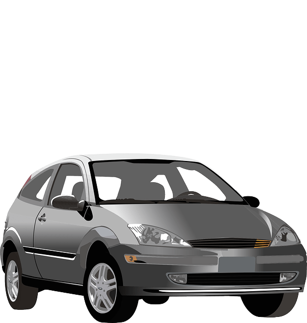 Ford focus car vehicle vector