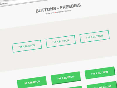 15 Buttons HTML5 CSS3 Style
