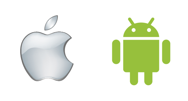 Android Apple Logo Vector