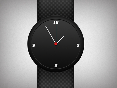 Black Wristwatch-Swiss Watch PSD For Free
