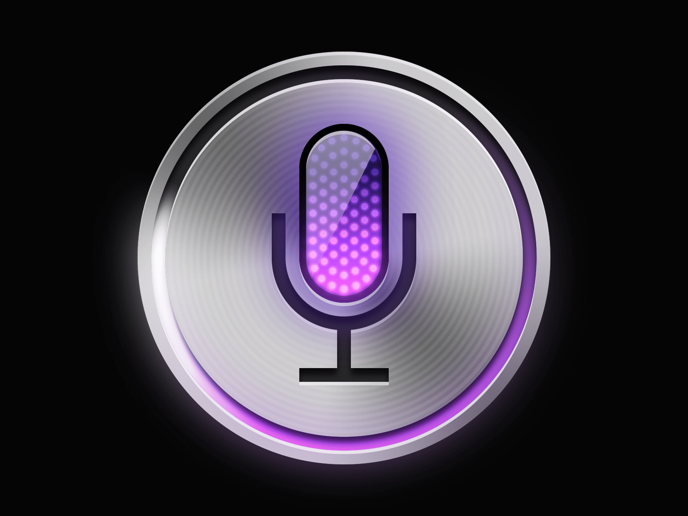 Free Apple ios Siri icon PSD