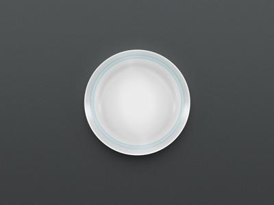 Free Dinner Plate PSD