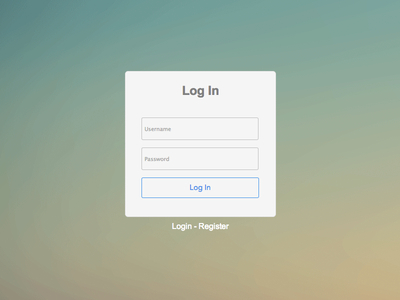Free Login /Register Form HTML5 CSS3 Template