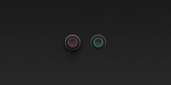 Free On Off Buttons PSD