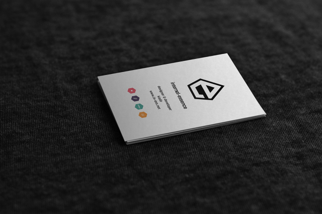 Free PSD Mock-up Business Card Template