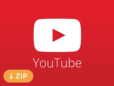 YouTube Logo Vector(eps png ai)