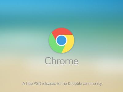 Flat Chrome Icon PSD